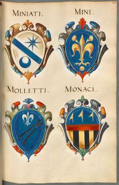 Links to Italian Rolls of Arms and Imprese.