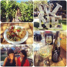 A Malibu Wines collage!