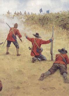 Okey's Dragoons at Naseby.