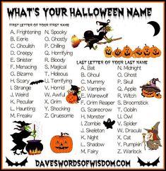famous halloween characters names - Yahoo Image Search Results Halloween Names, Halloween Party Games, Theme Halloween, Halloween Activities, Holidays Halloween, Scary Halloween, Happy Halloween, Halloween Games Online, Halloween Ideas