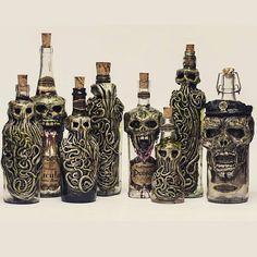 Personalized Lovecraftian Bottle