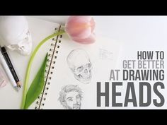 How to get Better at Drawing Heads + Faces // Japan Giveaway Winners - YouTube