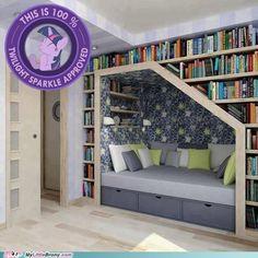 Book & Bed Nook