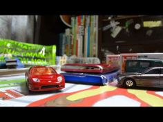 TOMICA Honda NSX-R Targa STOP MOTION MOVIE!!