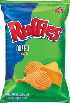 Frito Lay Ruffles Queso Flavored Potato Chips, 6.5oz Bags (Pack of 8) Frito Lay,http://www.amazon.com/dp/B004MTV374/ref=cm_sw_r_pi_dp_xE2Nsb00HF3CYK9J