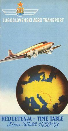 Vintage Airline Timetables: