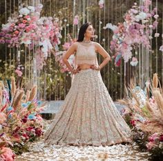 #lehenga #embroidered #floor Online Shopping Apps, Indian Dresses For Women, Lehenga Choli Online, Lehenga Designs, Wedding Stage, Bridesmaid Dresses, Wedding Dresses, Photo Poses, Floor