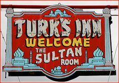 Turk's Inn (Restaurant) - Hayward, WI (TL 8/04); Turkish; old fashioned supper club