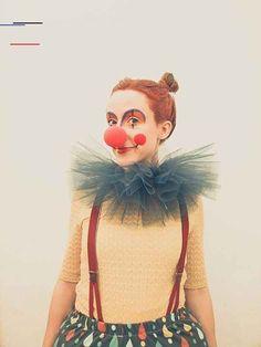 Women/'s Boo Boo Le Clown Cirque Costume Déguisement Enterrement Jeune Fille Fun travail thème ne