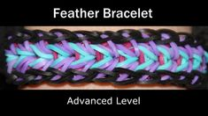 Rainbow Loom® Feather Bracelet