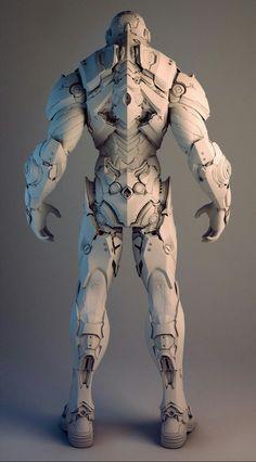 ArtStation - Nvidia Soldier, Mike Jensen: Hashtags: The Armor Concept, Concept Art, Character Concept, Character Art, Armadura Cosplay, Arte Cyberpunk, 3d Mode, Arte Robot, Futuristic Armour
