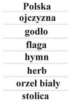 kolorowanka orzeł godło - Szukaj w Google Polish Language, To Tell, Told You So, Math Equations, Education, School, Google, Decorations, Room
