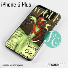 tiana disney vogue magazine Phone case for iPhone 6 Plus and other iPhone devices