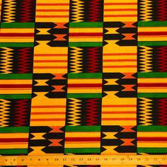 Kente African Print (19004-1)