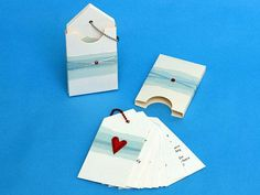 Paper Crafts: Wonderful Wedding Program - I think it would also make a very unique card for birthdays, gifts, etc!