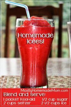Homemade Icees