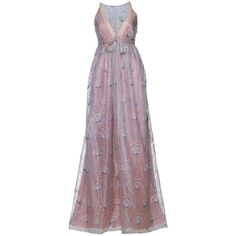 Madrinhas de Casamento Rosa ❤ liked on Polyvore featuring dresses, gowns, vestidos, long dresses, purple dress, long purple dress, purple gown and purple ball gowns