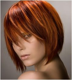 Pixelated The new hair color revolution – My hair and beauty Short Permed Hair, Short Hair Cuts, Short Hair Styles, Haircuts For Medium Hair, Medium Hair Cuts, Violet Brown Hair, Red Hair Looks, Sleek Ponytail, Red Hair Color