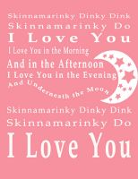 #yes! There are actions to this song the kids love to do :)  skinamarink - I sang this song to my kids   a thousand times when they were little.