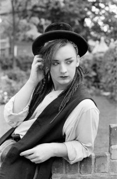 Pop star Boy George of Culture Club group. Pictured after the group moved into spot in the charts, September Get premium, high resolution news photos at Getty Images Group Pictures, Stock Pictures, Stock Photos, Culture Club, Creative Video, Boy George, Video Image, George Michael