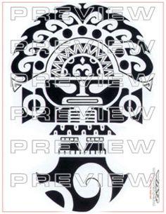 amazing tribal tumi tattoo design inspired by prehispanic ceremonial knife