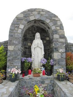 20 best grotto designs images garden art, do it yourself, gardeningGallery Sample Design Backyard Religious Grotto #7