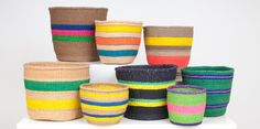 The Basket Room - Beautiful Baskets Woven With Colour, Stories & Craft