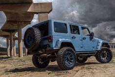 """No caption needed. #starwoodmotors #jeep #wrangler #friday #blue #taptap #like4like #follow #jeepgirl"""