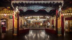 France: Musée des Art Forains in Paris showcases roving fairs of the past with gondolas, marionettes and carousels.