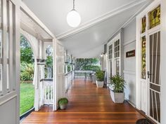 133 Bonney Ave, Clayfield, Qld View property details and sold price of 133 Bonney Ave & other properties in Clayfield, Qld House Deck, My House, Albion Hotel, Queenslander House, Large Open Plan Kitchens, 1930s House, New Farm, House Colors, Future House
