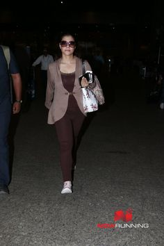 Kajol snapped at the airport