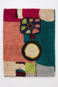 Geometric Abstraction Rug- Anthropologie