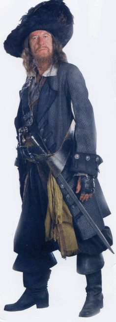 Geoffrey Rush as Barbossa