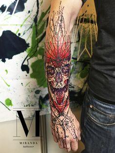 Tattoo by Abel Miranda /// + info abelmirandatattoo@gmail.com o 635808506 in progress @avantgardetattoocollective INSTAGRAM abelmiranda_tattoo SPONSOR: Electric Ink Europe, dermafilm #abelmirandatattoo #electricinkeurope #psychedelic #geometric...