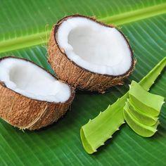 Rezept für selbst gemachte Kokosöl Hautpflege aus nur 3 Zutaten - macht die Haut streichelzart
