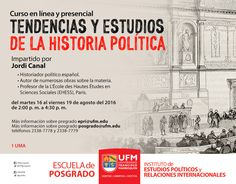 Curso Libre: Tendencias y estudios de la historia política