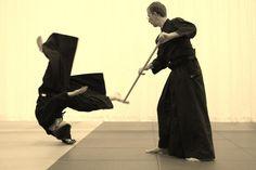 Aikido - Waffentraining: Nage no Jo, Aikido Budokan Wels, 13.5.2013