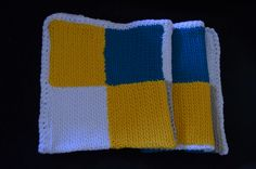 Crocheted blanket - Patchwork