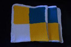 Crocheted blanket - Patchwork