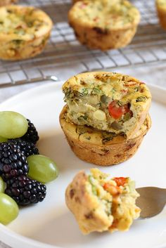 These Chickpea Flour Mini Veggie Frittatas have become a daily habit around here. I eat one as a mid-afternoon snack and my (non-vegan) husband has happily repl