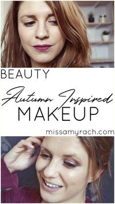 The Seasonal Palette - Autumn/Fall 2017. Autumn/Fall Inspired Makeup