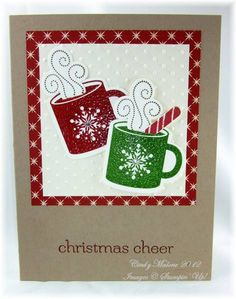Christmas Cheer by discoverstampin - Cards and Paper Crafts at Splitcoaststampers