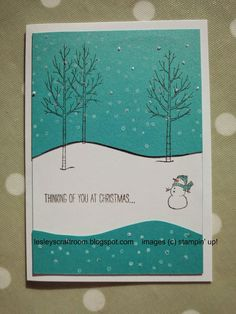 Lesley's Craft Room: Rudolph Day August Stampin' Up!