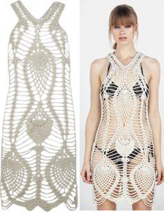 Crochet swimsuit cover up