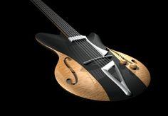 Jazz Guitar, Guitar Art, Cool Guitar, Trumpet Players, Guitar Building, Beautiful Guitars, Custom Guitars, Pulsar, Guitar Design