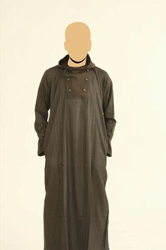 Brown Recolite Hooded Jubba