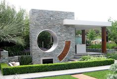 Fireplace From Chelsea Flower Show