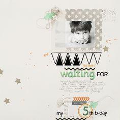 #papercraft #scrapbook #layout. Ania-Maria <3 <3