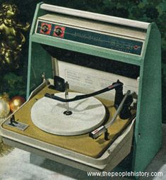 1967 Solid State Phonograph... I had one of these when I was a little, little girl.D