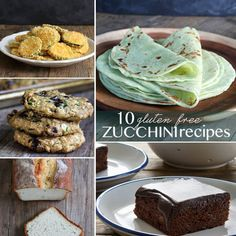 10 Gluten Free Zucchini Recipes